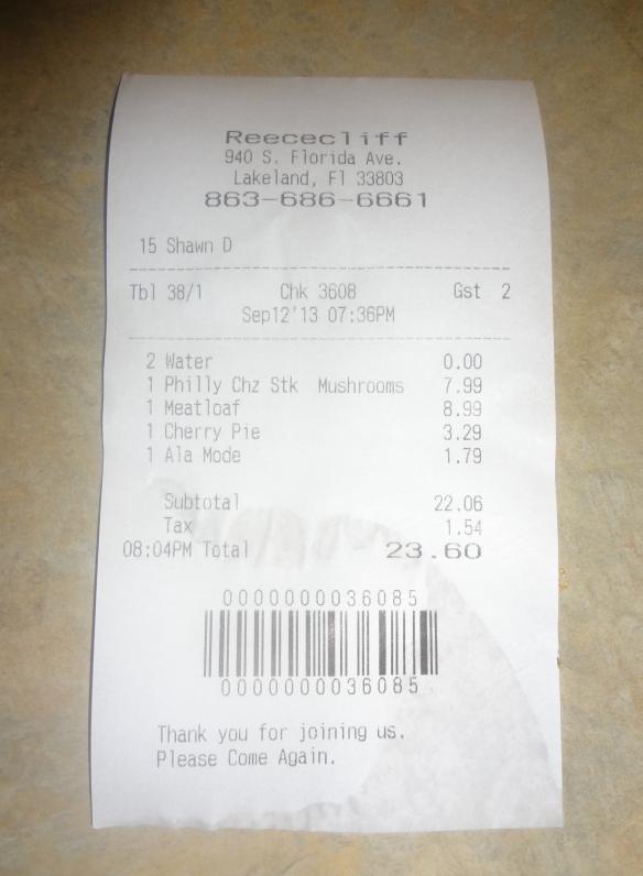 crop receipt